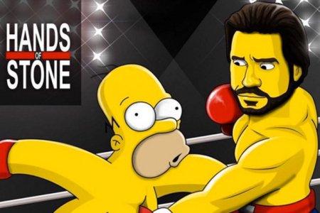Edgar Ramírez se convierte en un Simpson