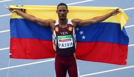 Luis Paiva ganó medalla de plata en paraolímpicos
