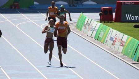 Sol Rojas pasó a semifinales de los 200 metros