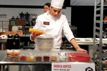 Andrea Dopico, Chef venezolana busca ganar competencia de pastelería V3 Valhrona