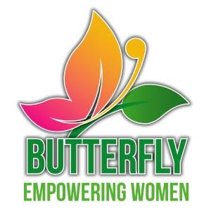 butterfly empowering women