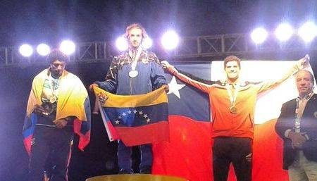 Derek Gómez ganó medlla de oro en Iquique 2016