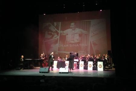 Gian Faraone en la estela de Frank Sinatra