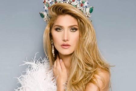 Mariam Habach, lista para partir al Miss Universo