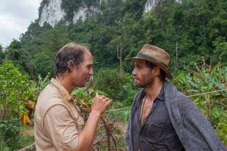 Edgar Ramírez se baña en oro en la selva tailandesa