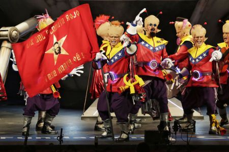 Venezuela gana premio de Carnaval en España