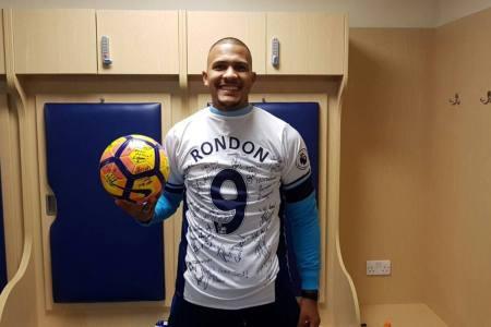 """Salomón Rondón se inspira en Michael Jordan para """"tener éxito"""""""