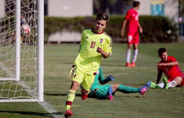 Vinotinto Sub 20 dispuso 1-0 de Chile