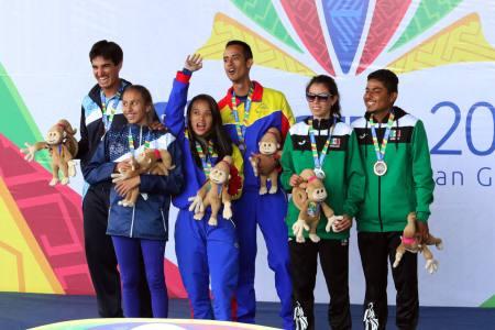 """Venezuela """"voló"""" por el tercer oro en Panamericanos"""