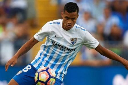 Rosales cumplió 100 partidos en Liga con el Málaga