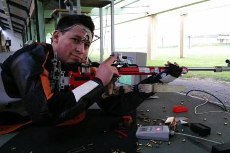 Venezolano rompió récord nacional de tiro en Alemania
