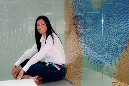 Artista plástica venezolana, nominada al premio Best Global Artist