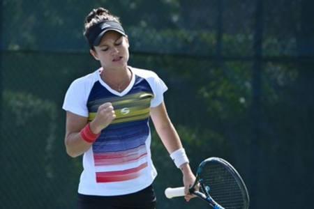 Tenista venezolana Andrea Gamiz volvió a titularse en Europa
