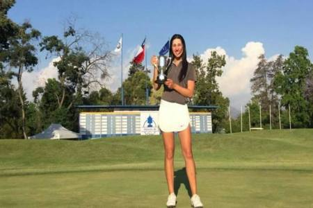 Golfista venezolana Valentina Gilly ganó Abierto de Chile