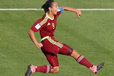 Deyna Castellanos condujo a Venezuela a la victoria sobre Uruguay