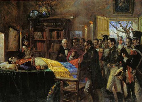 Muerte de Bolívar - Quijano