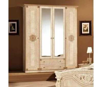 Рома Шкаф 4Д (Мебель Сервис)