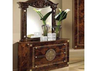 Рома Комод + зеркало (Мебель Сервис)