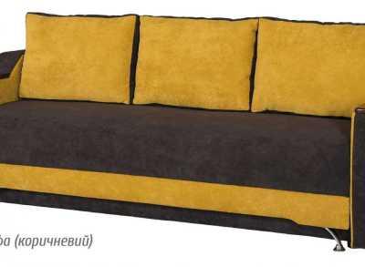 Невада диван раскладной альфа коричневый
