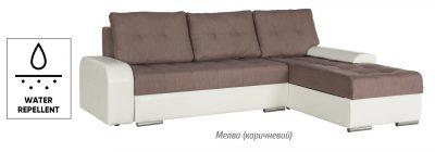Женева диван угловой (Мебель Сервис)