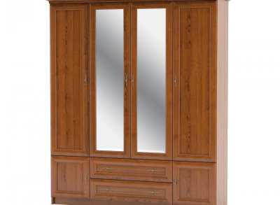 Даллас Шкаф 4 Д (Мебель Сервис)