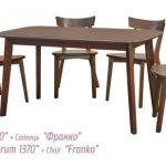Стол не раздвижной Форум 1370 Мебель Сервис