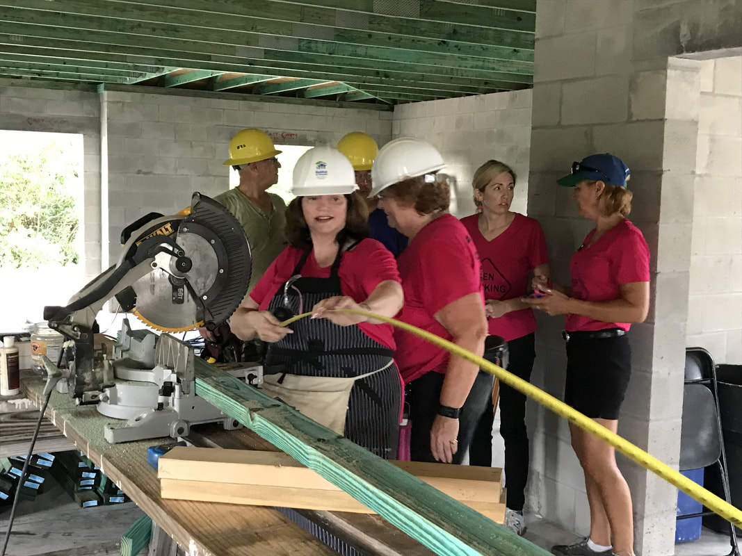 VNWC Participates Habitat for Humanity Women Build Day