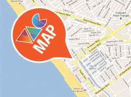 Download the most current Venice Art Crawl Map