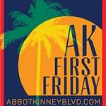Abbot Kinney Blvd First Friday Logo
