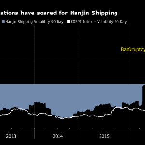 Hanjin Shipping Soars a Day After Exchange Calls Stock 'Trash'