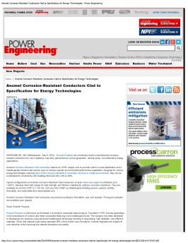 Anomet Corrosion-Resistant Conductors Clad to Specification for Energy Techn_Page_1
