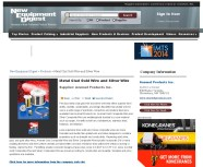 Anomet Metal Clad Gold Wire and Silver Wire _ New Equipment Digest Online