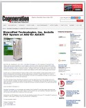 Diversified Technologies, Inc. Installs PEF System at ASU for AzCATI - Cogen_Page_1