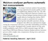 Alliance-Material Handling Network April 2015