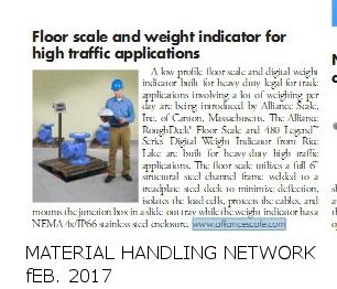 Alliance- Material Handling Network Feb. 2017