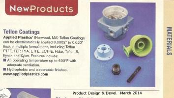 Applied Plastics March PD&D