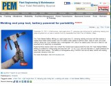 ESCO Welding end prep tool, battery powered for portability _ Plant Engineering &_Page_1