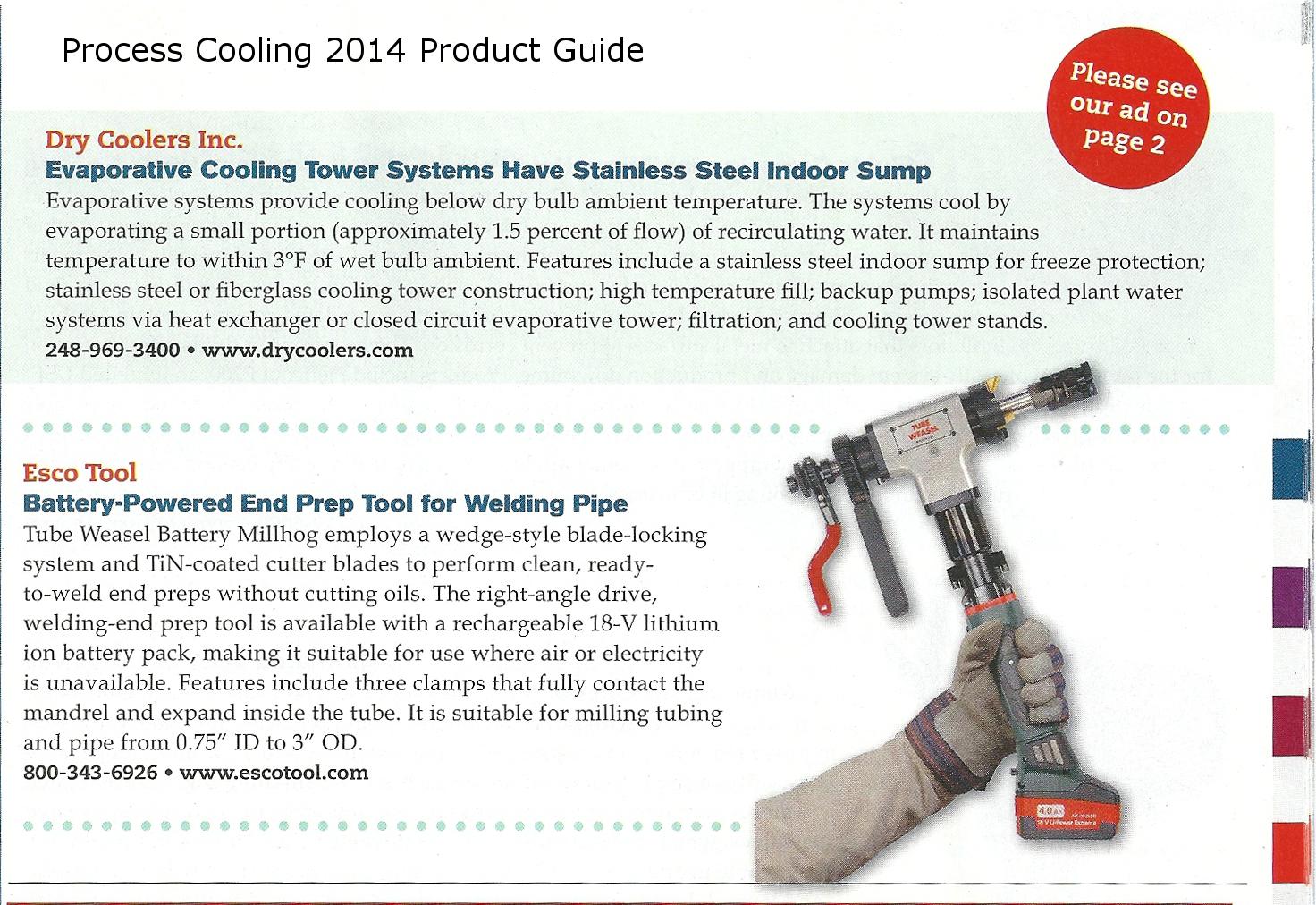 Esco-Process Cooling P.22