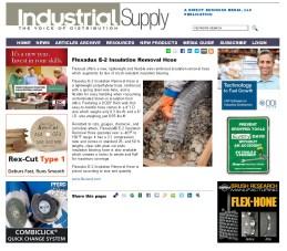 Flexadux E-2 Insulation Removal Hose - Industrial Supply Magazine