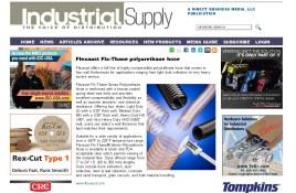Flexaust Flx-Thane polyurethane hose - Industrial Supply Magazine