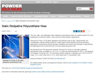 Flexaust-Static Dissipative Polyurethane Hose _ Powder_Bulk Solids_Page_1