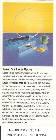 Laser Research Optics Clip 001
