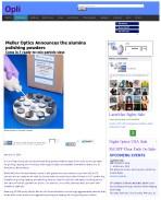 Meller Optics Announces the alumina polishing powders_Page_1