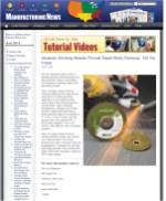 Rex-Cut Abrasive Grinding Wheels Provide Rapid Stock Removal, 100 Ra Finish
