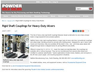 Stafford Rigid Shaft Couplings for Heavy-Duty Mixers _ Powder_Bulk Solids_Page_1