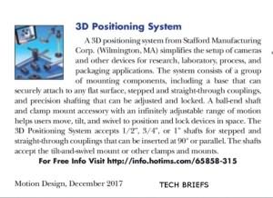 Stafford- Tech Briefs Motion Design Dec. 2017