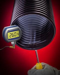 High temperature hose