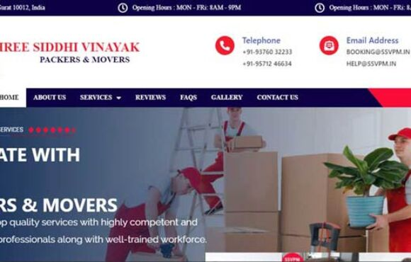 SSV PACKERS & MOVERS – INDIA