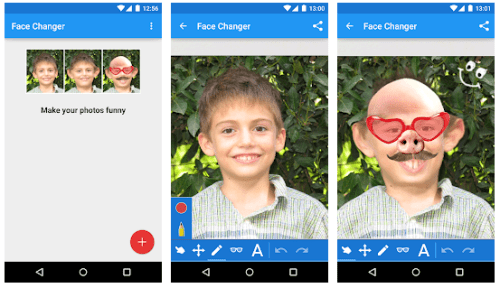 face changer 2 funny face apps