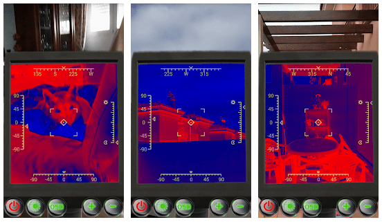 infrared thermal camera app